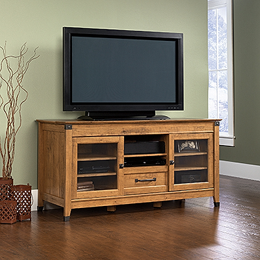 Sauder Registry Row 60 Tv Stand 412312 The Furniture Co