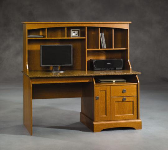Sauder 408951 Graham Hill Desk Amp Hutch The Furniture Co