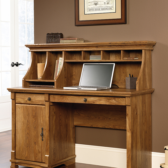 Sauder 413684 French Mills Hutch The Furniture Co