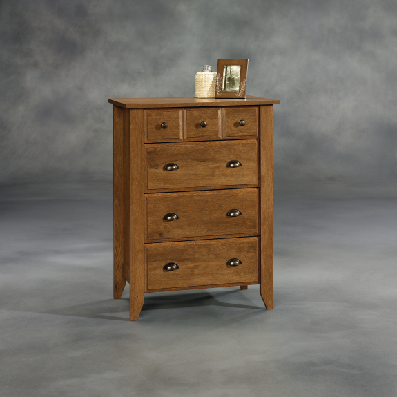 Sauder 410288 Shoal Creek 4 Drawer Chest The Furniture Co