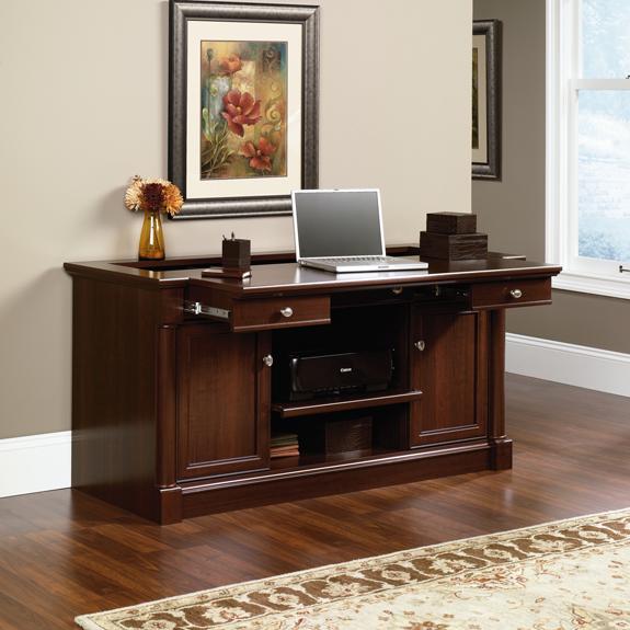 Sauder 412079 Palladia Credenza The Furniture Co
