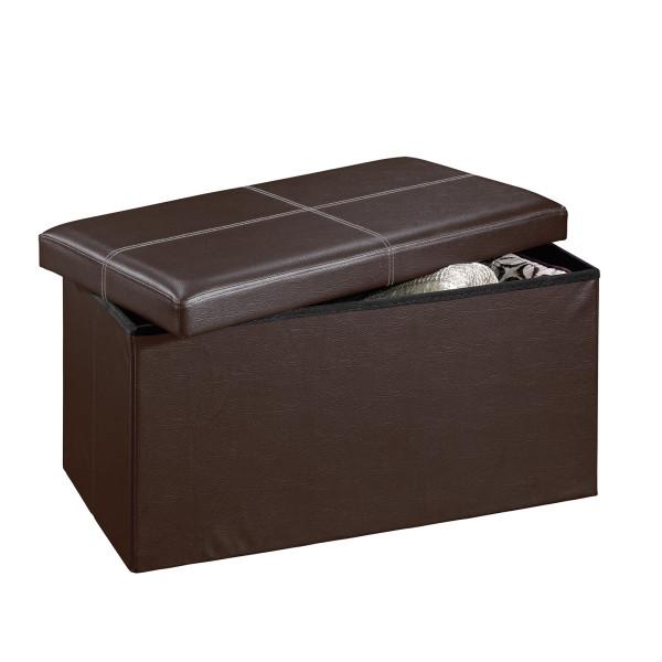 Sauder 414671 Beginnings Large Storage Ottoman The Furniture Co