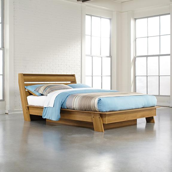 Modern Platform Bedroom Sets Soft Bedroom Lighting Black And Red Bedroom Interior Design Bedroom Furniture Ideas 2016: Sauder (415138) Soft Modern Queen Platform Bed