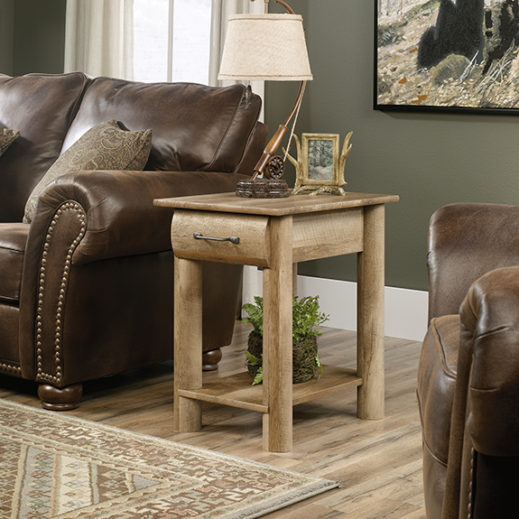 Sauder 416561 Boone Mountain Side Table The Furniture Co