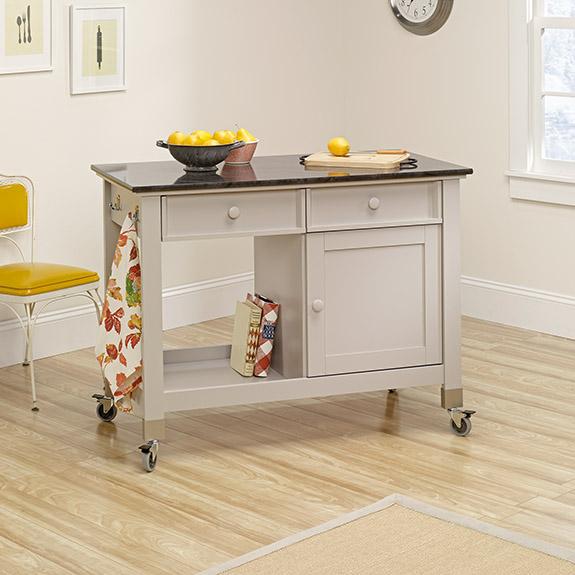 sauder 414405 original cottage mobile kitchen island