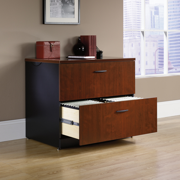 Sauder 412758 Via Lateral File Cabinet The Furniture Co