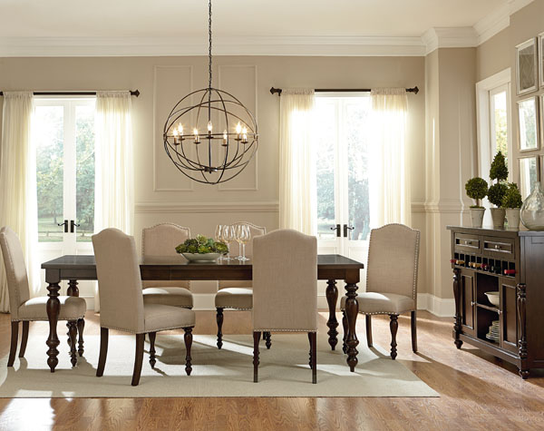 Standard Mcgregor Dining Table 6 Chairs 17721 27 The Furniture Co