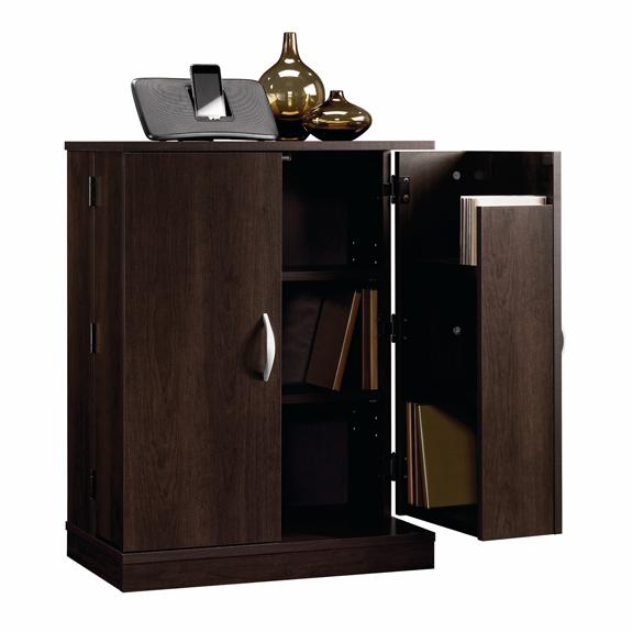 sauder beginnings multimedia cabinet 413070 the. Black Bedroom Furniture Sets. Home Design Ideas