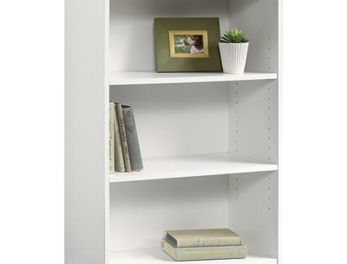 sauder beginnings 3 shelf bookcase 415541 the. Black Bedroom Furniture Sets. Home Design Ideas