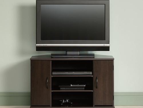 Sauder Beginnings Corner Tv Stand 416406 The Furniture Co