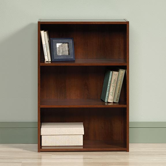 Sauder Beginnings 3 Shelf Bookcase 416438 The Furniture Co
