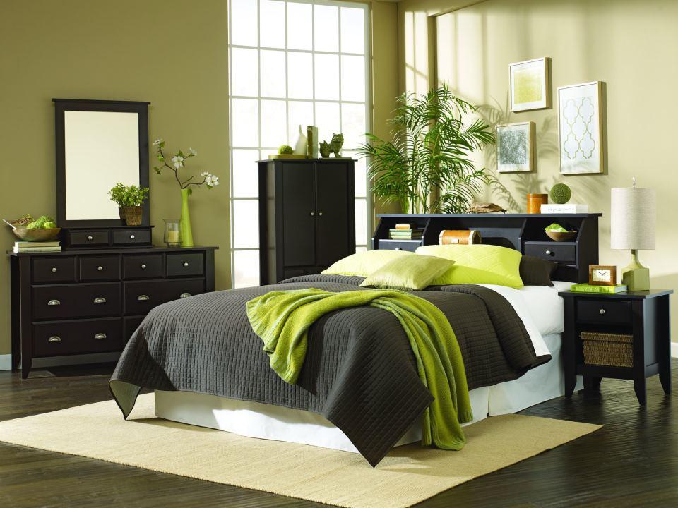 Sauder Shoal Creek 3 Piece Bedroom Set SHCR JW BD SET