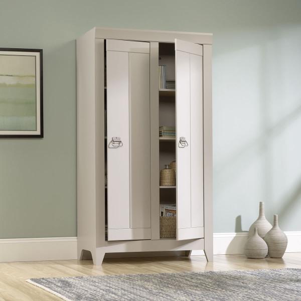 Sauder Adept Storage Wide Storage Cabinet 418140 The