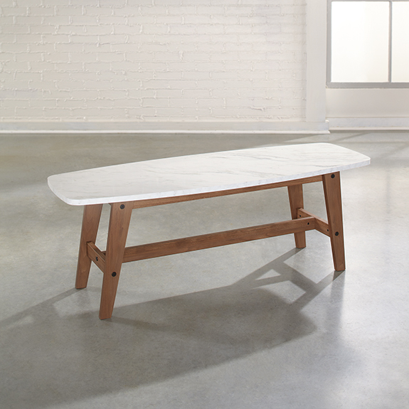 Sauder Soft Modern Coffee Table 414978 The Furniture Co