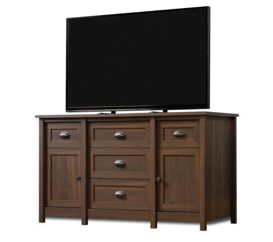 Sauder 417085 County Line Tv Stand The Furniture Co