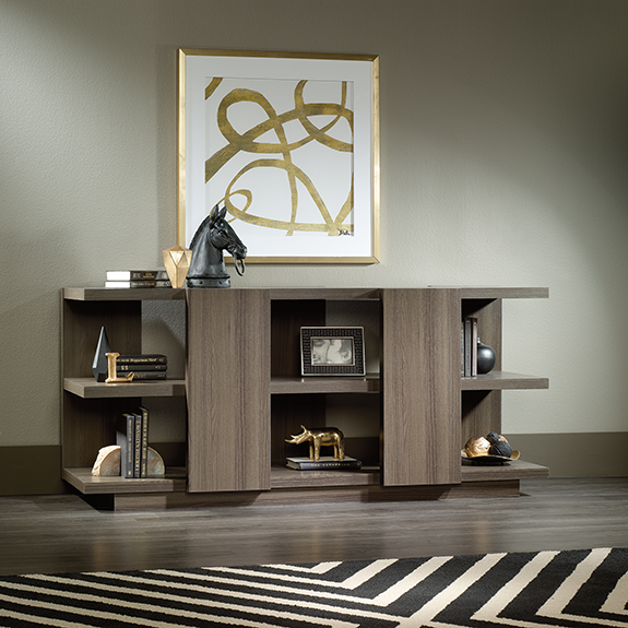 Sauder 417845 international lux console tv stand the for International decor outlet jacksonville