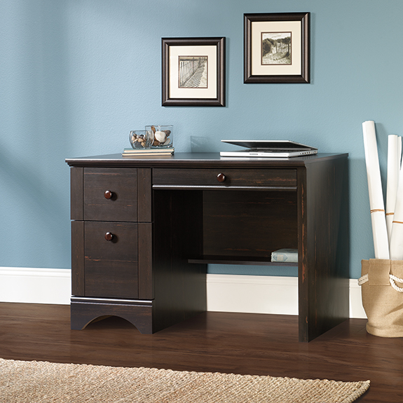 Sauder 418942 Harbor View Computer Desk The Furniture Co
