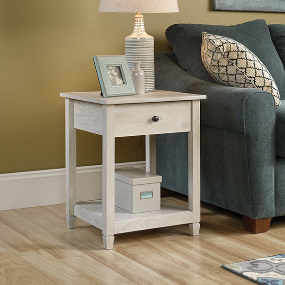 Sauder 419239 Edge Water Side Table The Furniture Co