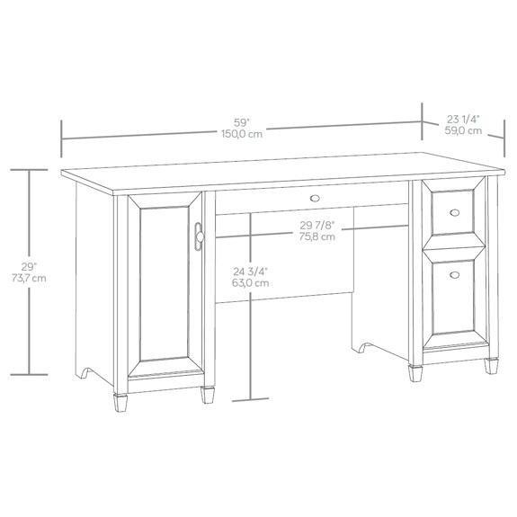 Sauder Edge Water puter Desk