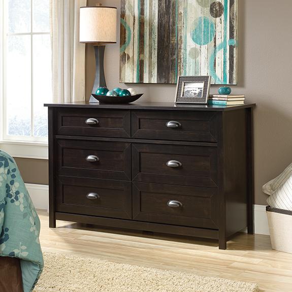 Sauder 419462 County Line Dresser The Furniture Co