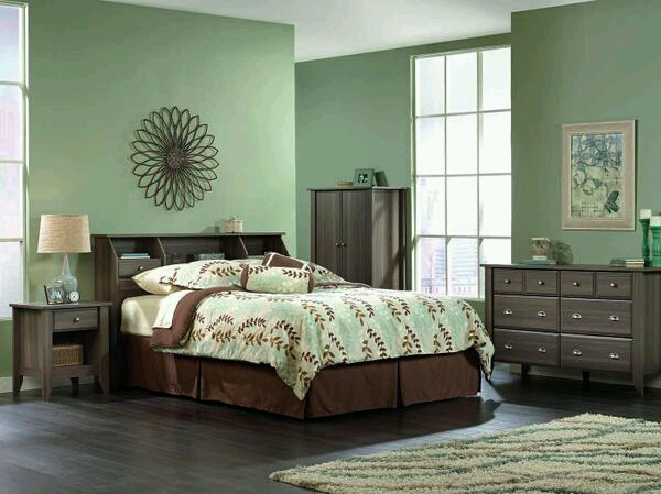 Sauder Shoal Creek 3 Piece Bedroom Set SHCR DI BD SET