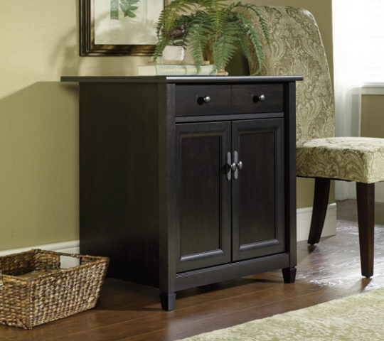 Sauder 408696 Edge Water Utility Stand The Furniture Co