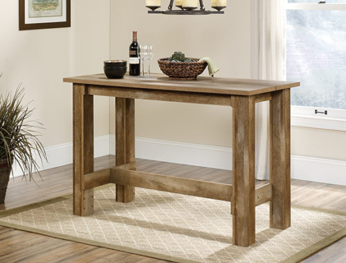 Sauder 416698 Boone Mountain Counter Height Dinette Table The Furniture Co
