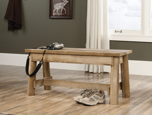 Sauder 416705 Boone Mountain Bench The Furniture Co