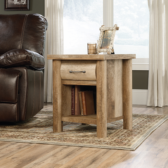 Sauder 416719 Boone Mountain Side Table The Furniture Co
