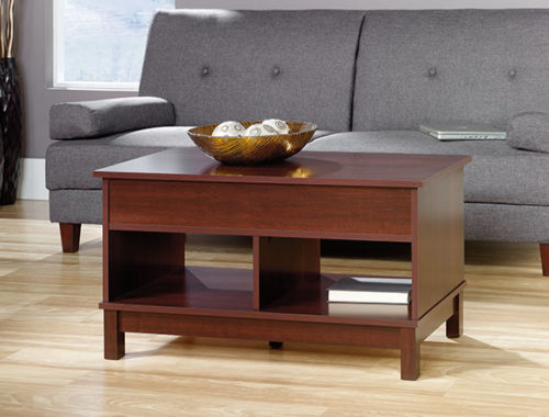 Sauder 418341 Kendall Square Lift Top Coffee Table The Furniture Co