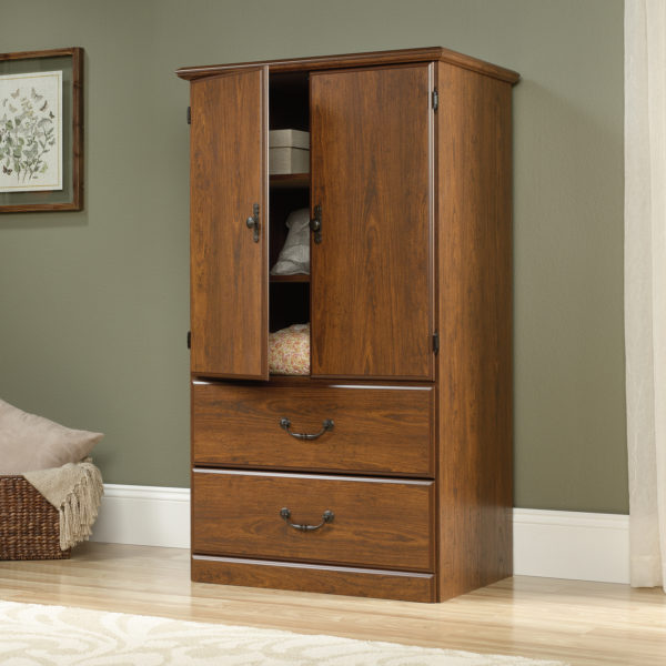 Sauder 418631 Orchard Hills Armoire The Furniture Co