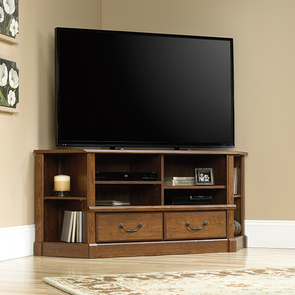 Sauder 418652 Orchard Hills Corner Entertainment Credenza The Furniture Co