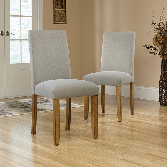 Sauder 418862 Cannery Bridge Parsons Chair Set Of Two