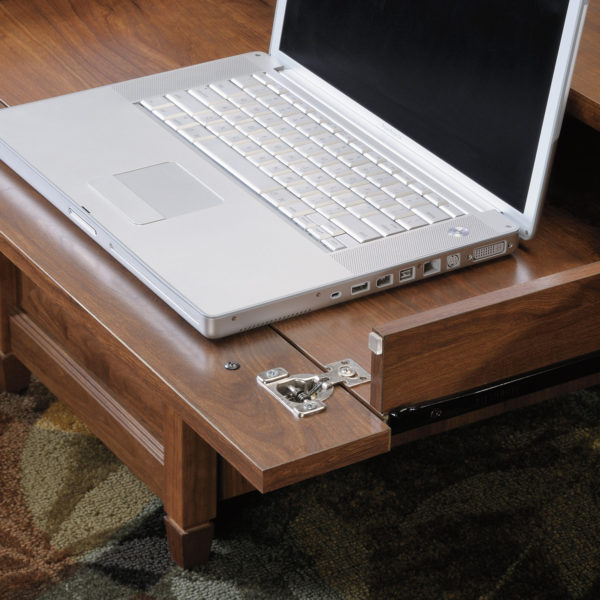 Sauder 419100 Edge Water Executive Desk The Furniture Co