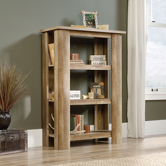 Sauder 419863 Boone Mountain 3 Shelf Bookcase The Furniture Co