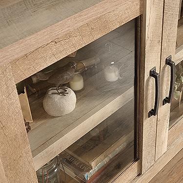 Sauder 420334 Cannery Bridge Display Cabinet The
