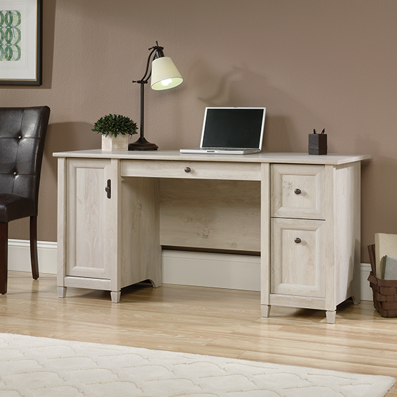 Sauder 418793 Edge Water Computer Desk The Furniture Co