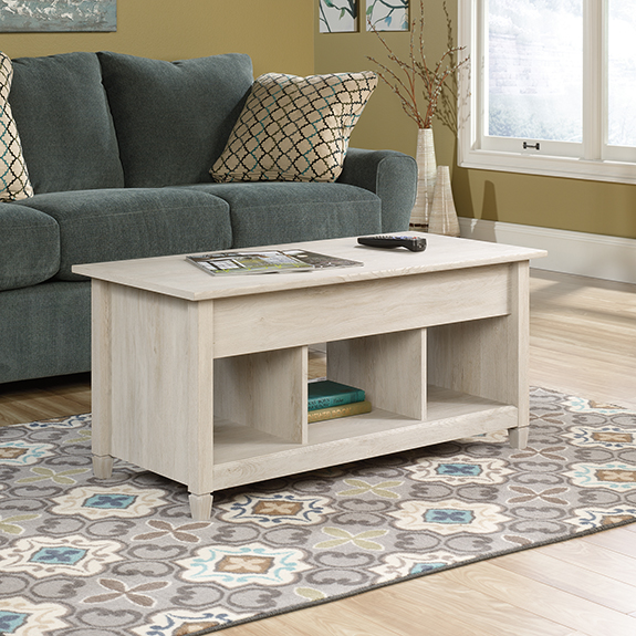 Sauder 419096 Edge Water Lift Top Coffee Table The Furniture Co