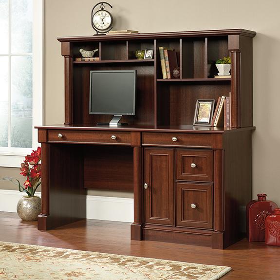 Sauder (420513) Palladia Computer Desk And Hutch