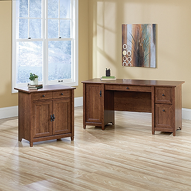 Sauder Ps1131 Edge Water 2 Piece Office Set The Furniture Co