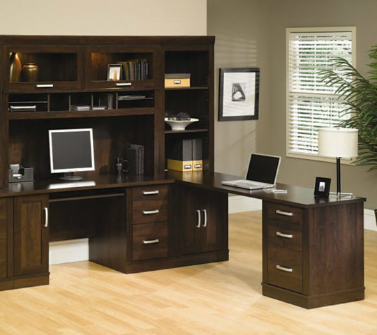 sauder collections office port sauder ps40 5 piece office port