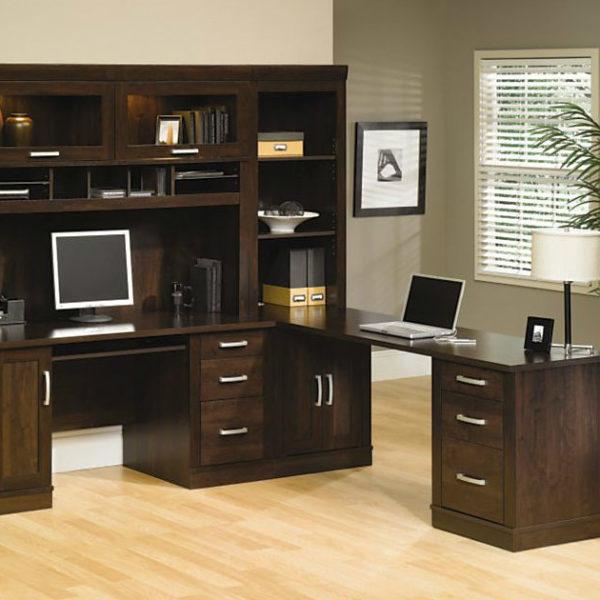sauder ps40 5 piece office port set the furniture co