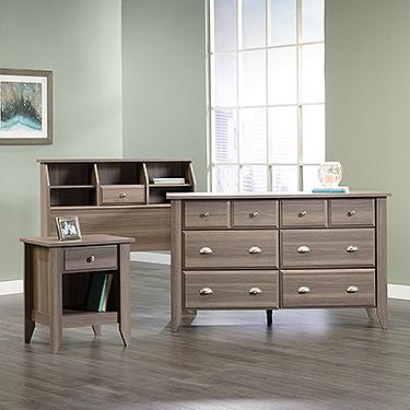 Sauder Ps1159 3 Piece Shoal Creek Bedroom Set The Furniture Co