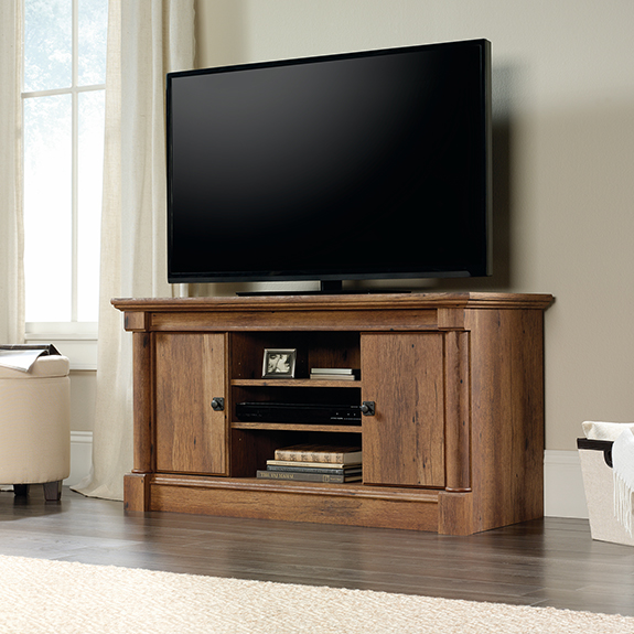 Sauder 420605 Palladia Panel Tv Stand The Furniture Co