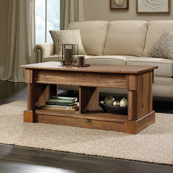 Sauder 420716 Palladia Lift Top Coffee Table The Furniture Co