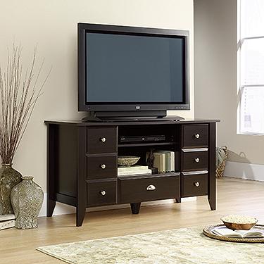 Sauder Shoal Creek Tv Stand 409732 Sauder The Furniture Co