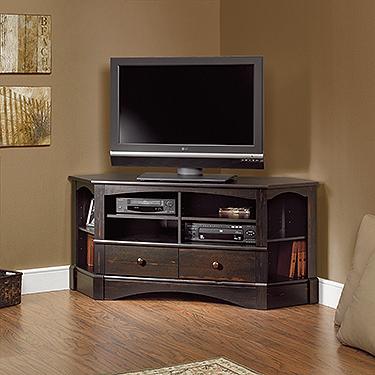 Sauder Harbor View Corner Tv Stand 402902 Sauder The Furniture Co