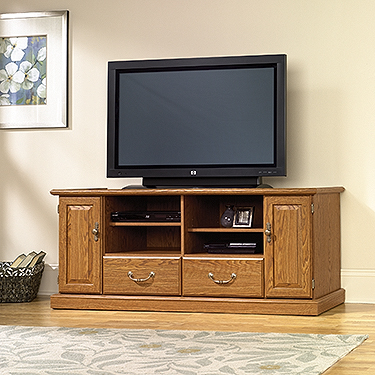 Sauder Shoal Creek Panel Tv Stand 409795 Sauder The Furniture Co