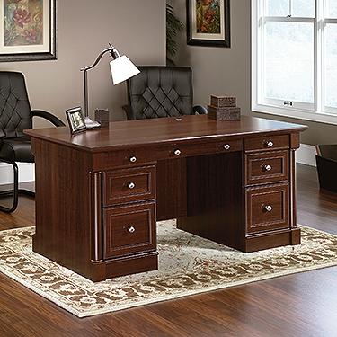 Sauder Palladia Executive Desk 412902