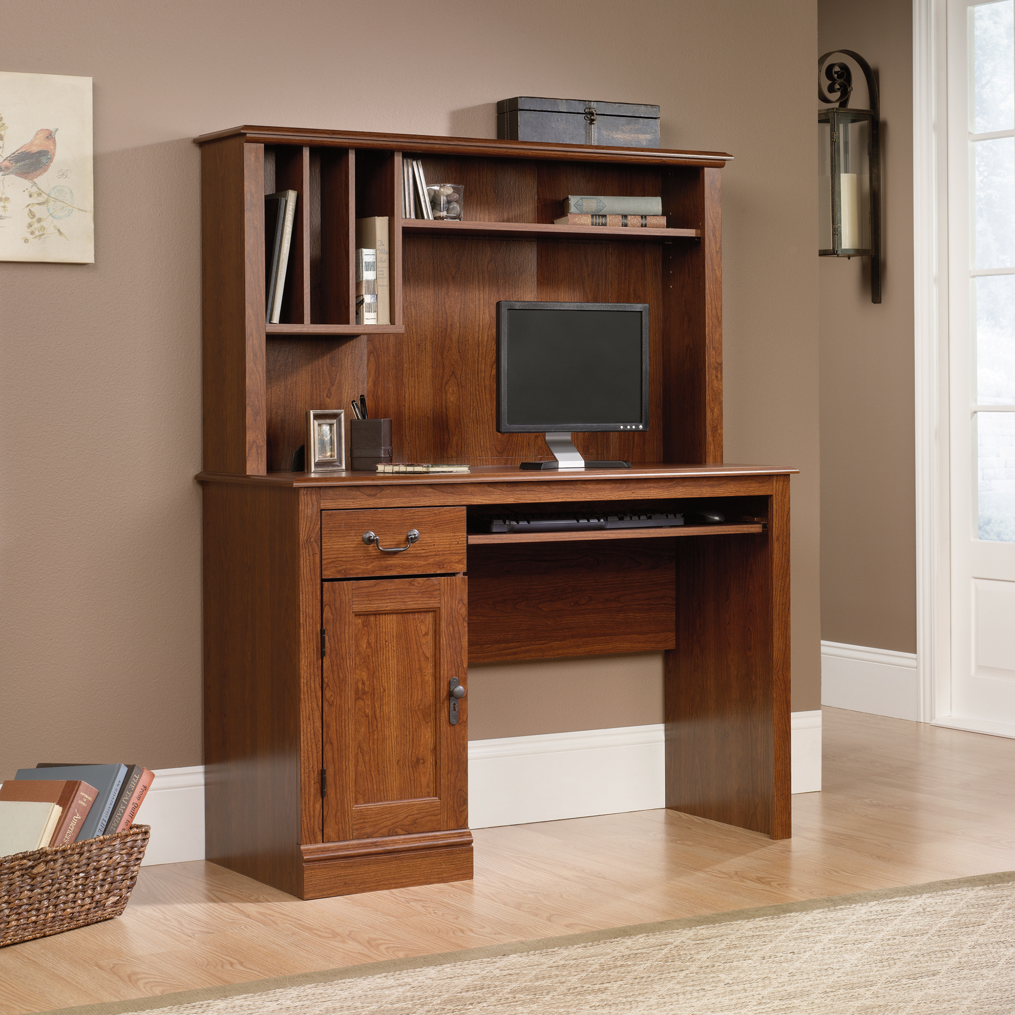 Sauder (101736) Camden County Desk With Hutch